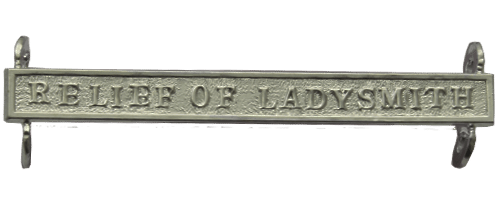 Queens South Africa QSA Clasp RELIEF OF LADYSMITH